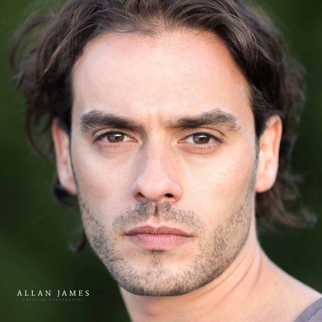 Actor Headshots On Location in Wales    - Allan James
